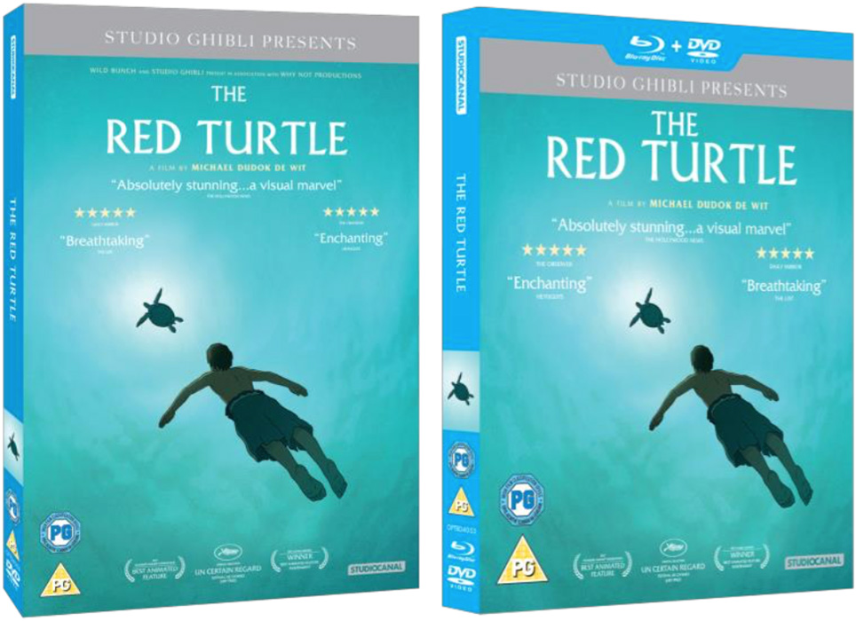 Ghibli S The Red Turtle On Dvd Double Play And Digital In September Cine Outsider