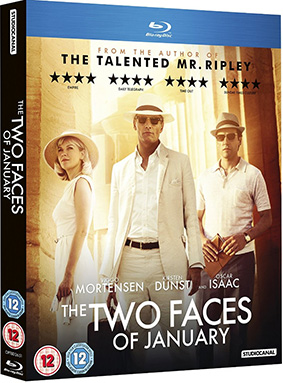 The Two Faces Of January Dvd Cover