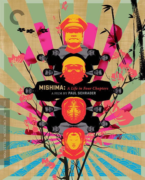 Mishima: A Life in Four Chapters Blu-ray pack shot
